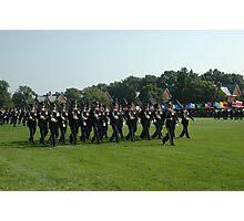 US ARMY 3d Infantry Regiment - The OLD GUARD - Troops Pass in Review Photographic Print
