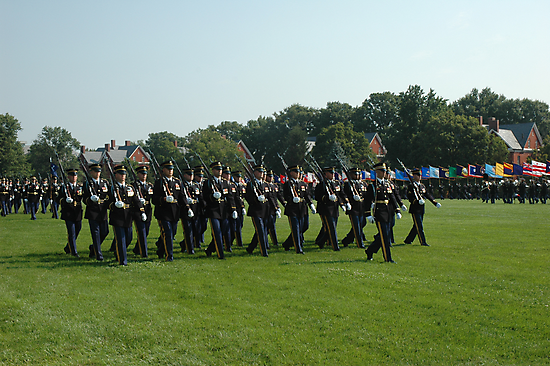 US ARMY 3d Infantry Regiment - The OLD GUARD - Troops Pass in Review by John Michael