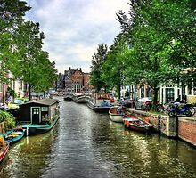 Amsterdam by Roddy Atkinson