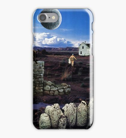 The Bath - surreal fantasy collage original iPhone Case/Skin