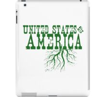 United States of America Roots iPad Case/Skin
