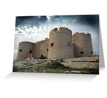 CHATEAU D'IF, MARSEILLE, FRANCE Greeting Card