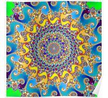 'Buddha Sun' Poster