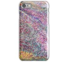 """""""Entanglement No.2"""" original abstract artwork by Laura Tozer iPhone Case/Skin"""