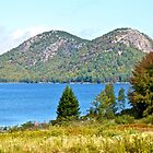 Jordan Pond, The Bubbles, Early Fall, Acadia NP, Maine by Dan Hatch