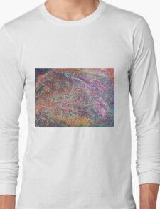 """Entanglement No.2"" original abstract artwork by Laura Tozer Long Sleeve T-Shirt"