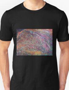 """Entanglement No.2"" original abstract artwork by Laura Tozer Unisex T-Shirt"
