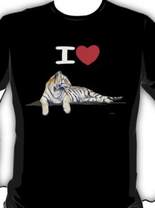 I love Tigers (for dark) T-Shirt