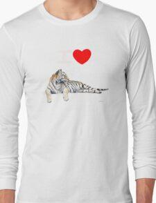 I love Tigers (for dark) T-Shirt
