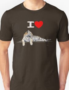 I love Tigers (for dark) Unisex T-Shirt
