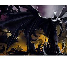 Batman So Dark! :o Photographic Print