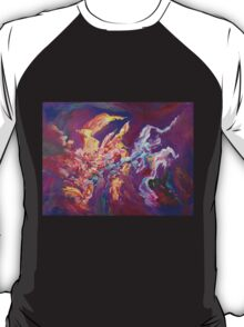 """Turbulence"" original abstract artwork by Laura Tozer T-Shirt"
