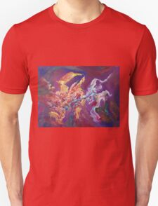 """Turbulence"" original abstract artwork by Laura Tozer Unisex T-Shirt"
