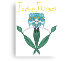 Feeling Florges Canvas Print