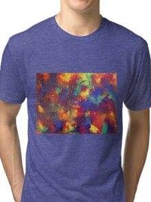 """Entropy"" original abstract artwork by Laura Tozer Tri-blend T-Shirt"