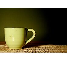 Midnight cup of tea Photographic Print