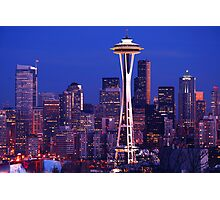 Seattle Cityscape Photographic Print