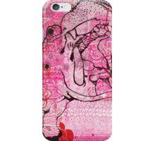Pink Hippo Cake iPhone Case/Skin