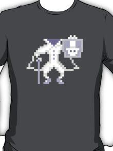 8-bit Hatbox Ghost - Haunted Mansion T-Shirt