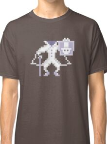 8-bit Hatbox Ghost - Haunted Mansion Classic T-Shirt