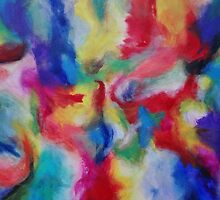 """""""Euphoria"""" original abstract artwork by Laura Tozer by Laura Tozer"""