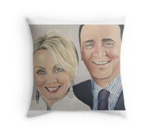 Anne and Dominic Throw Pillow