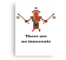 Troll Warlord - There are no innocents Canvas Print