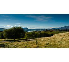 Panoramic view of rural scenery Photographic Print