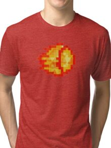 Street Fighter - Polygon Fireball Tri-blend T-Shirt