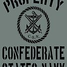 Property Confederate States Navy by Larry Oates