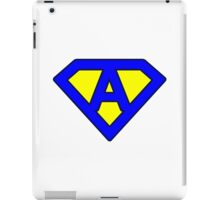 A letter iPad Case/Skin