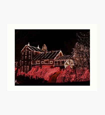 Clifton Mill Art Print