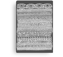 Layer Cake Grey Canvas Print