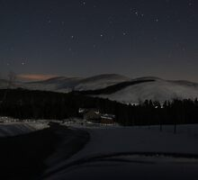 Starlit Cairngorms by Beth Trotter