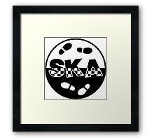 Ska logo Framed Print