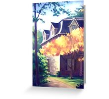 Boston House Greeting Card