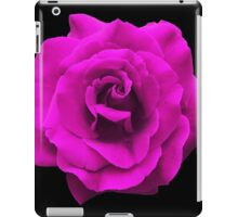 Perfectly Sexy Beautiful Pink Rose, Rock this!! iPad Case/Skin