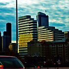 Seattle Sunrise Commute 3 by Tamara Valjean