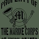 Property Marine Corps of Union States by Larry Oates