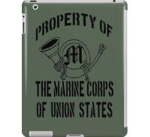 Property Marine Corps of Union States iPad Case/Skin