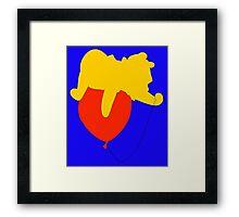 Winnie the Pooh - Disney Framed Print