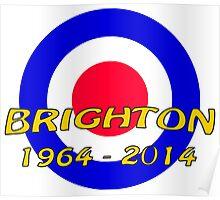 Brighton - 50th anniversary Poster