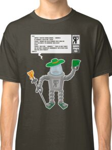 Robot Pimps Inc.  - Line 20 - Dark Classic T-Shirt