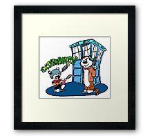Doctor Hobbes Framed Print