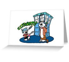 Doctor Hobbes Greeting Card