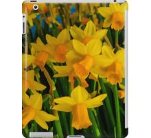 DAFFODILS BIG TIME iPad Case/Skin