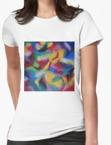 """""""Serendipity"""" original artwork by Laura Tozer Womens Fitted T-Shirt"""