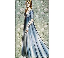 Lady in dress Photographic Print