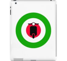 Scooter target - Mods Italy iPad Case/Skin