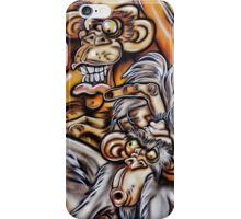 Crazy Monkies iPhone Case/Skin